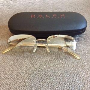 Small Silver Ralph Lauren Sunglasses in women